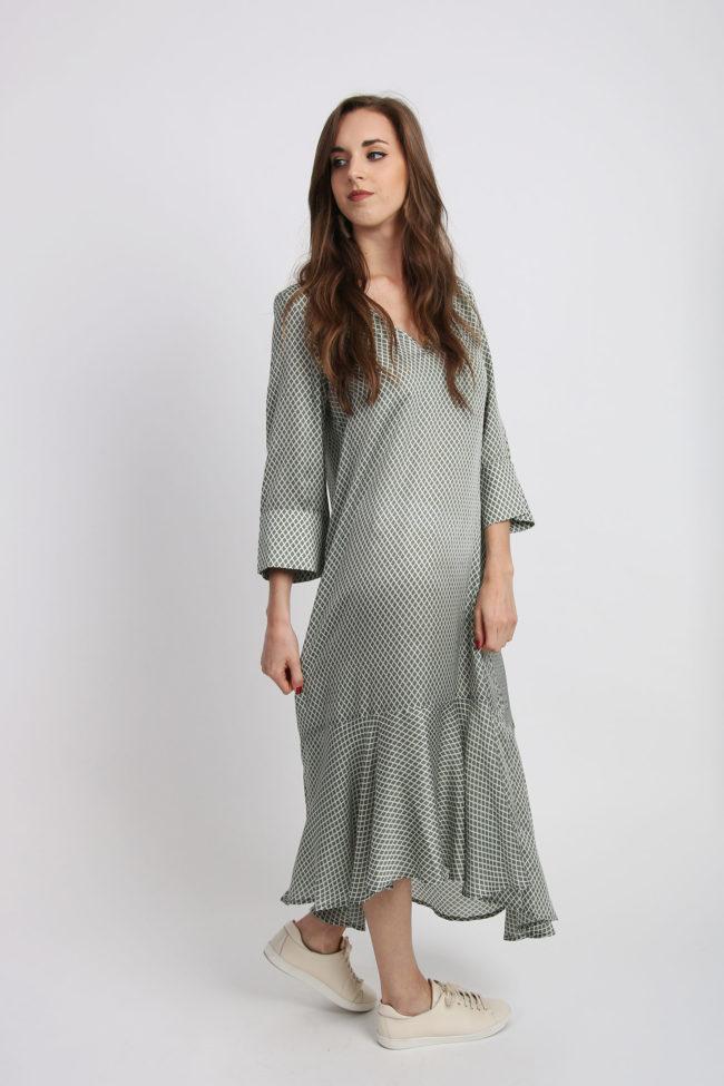 robe longue viscose