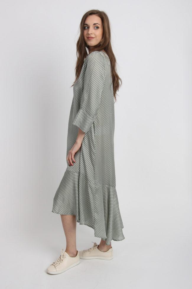robe longue fluide et legere