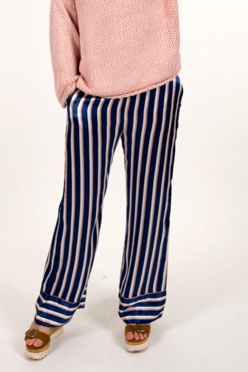 pantalon rayé