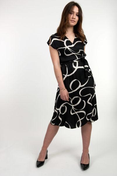 robe portefeuille marine