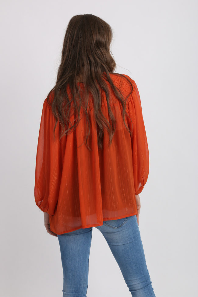 blouse sister jane orange