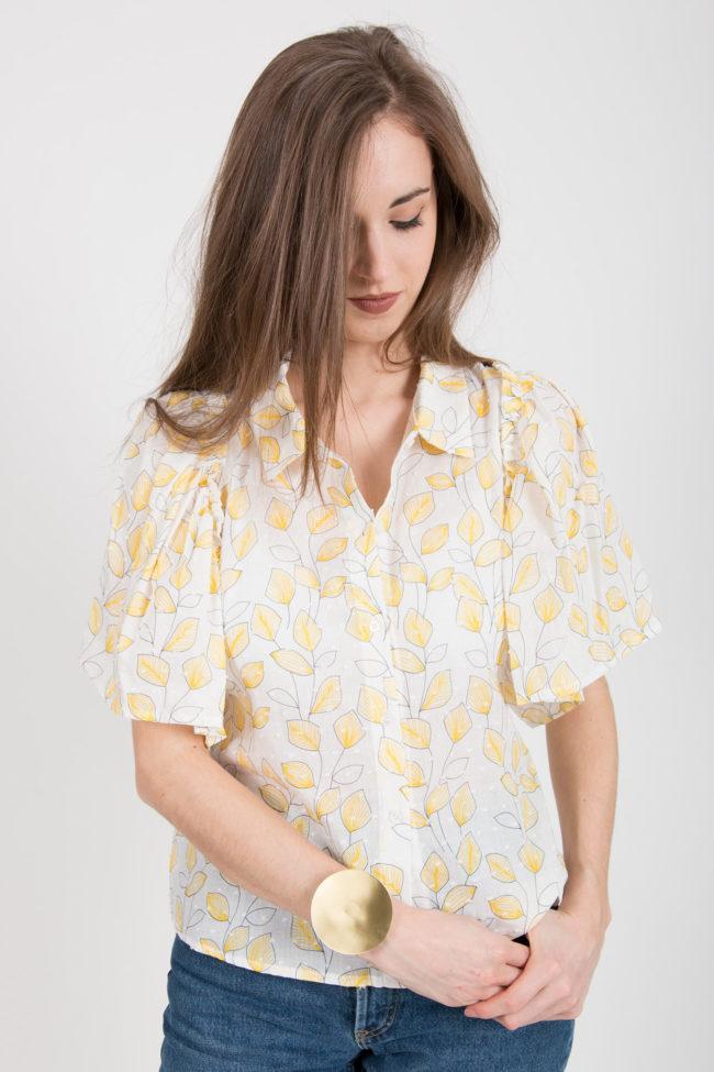 chemise plumetis