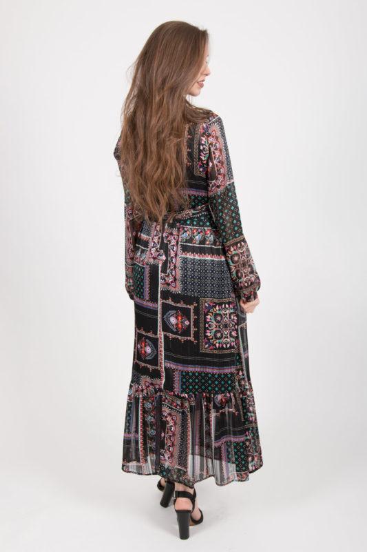 robe longue vu dos