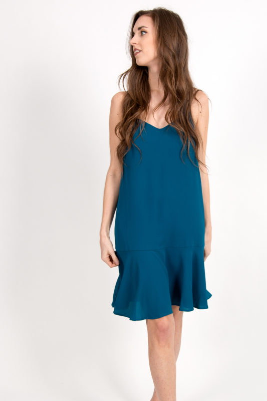 robe nuisette turquoise 2
