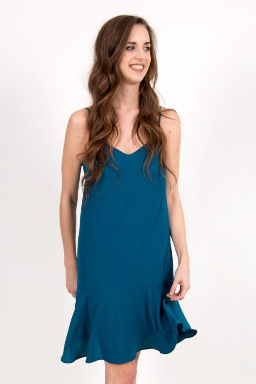 robe nuisette turquoise 4