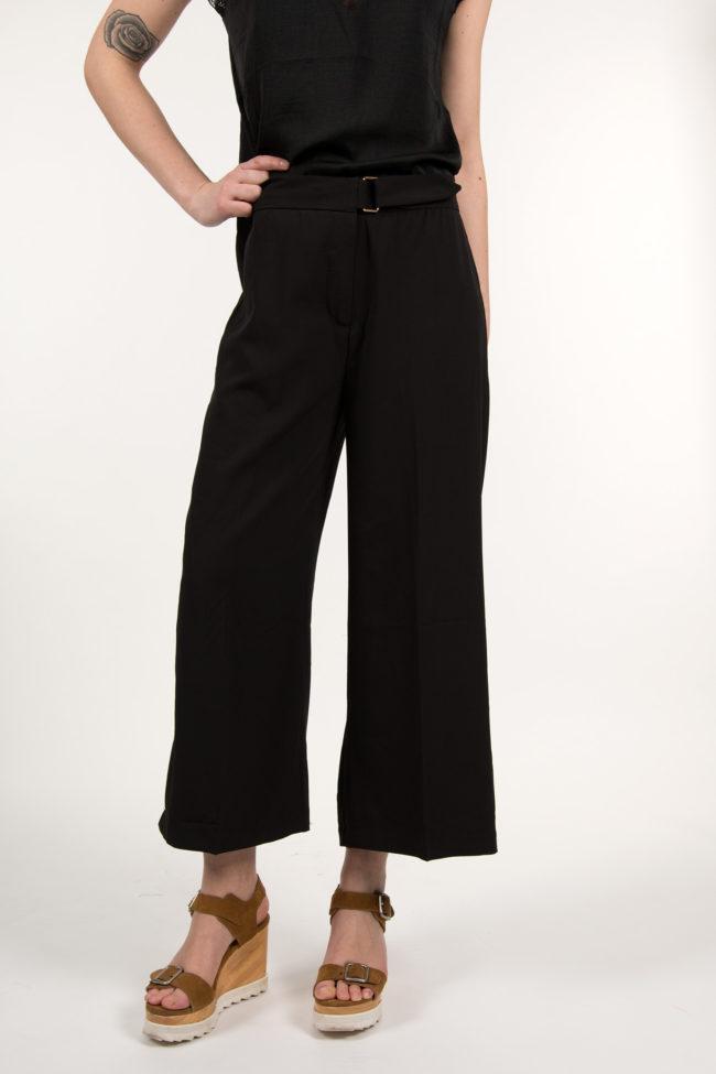 jupe culotte noir