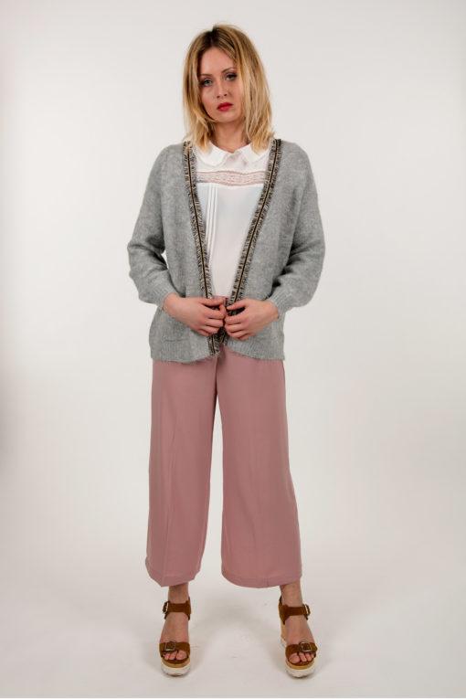 jupe culotte rose