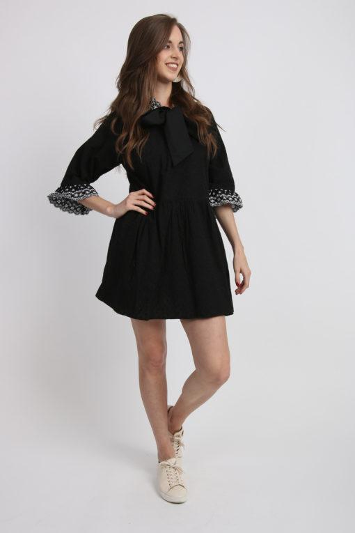 robe tunique noire