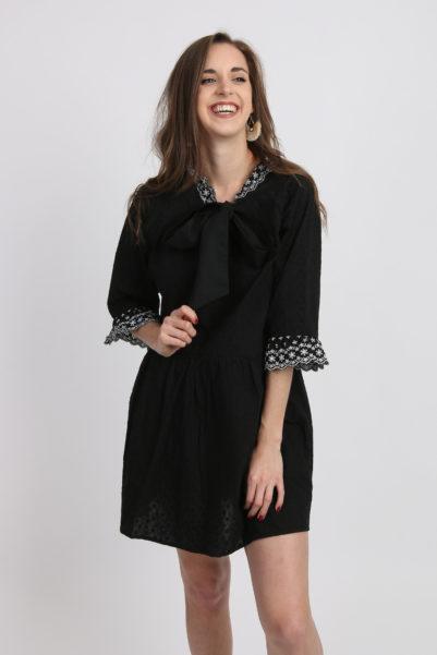 robe large noire