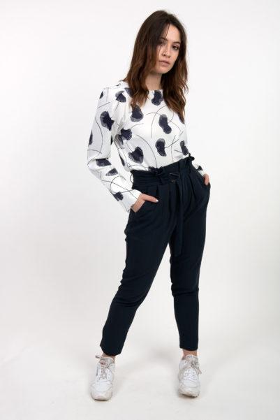 pantalon bleu ichi