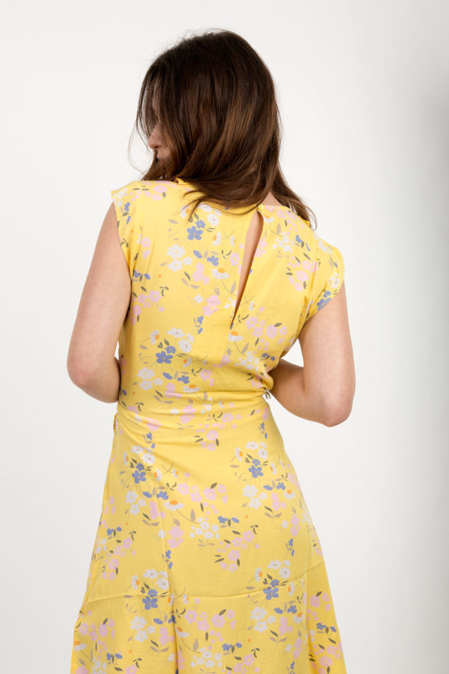 robe liberty jaune