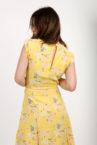 robe liberty jaune