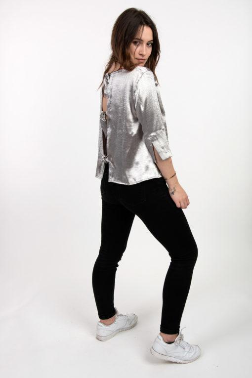 blouse tendance silver