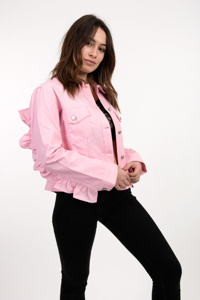 veste rose english factory