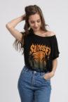 tee shirt noir mode