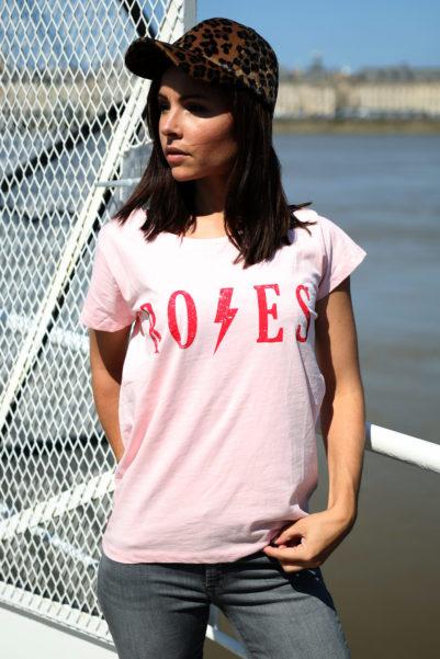 t-shirt roses