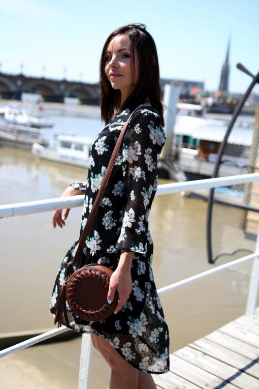robe fleurie blendshe