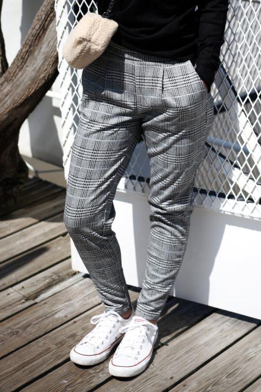 pantalon pied de poule ichi