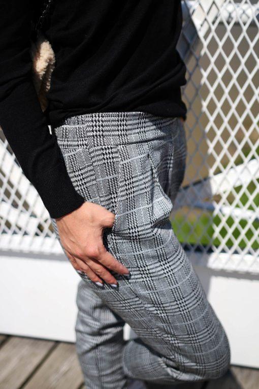pantalon pied de poule ichi 3