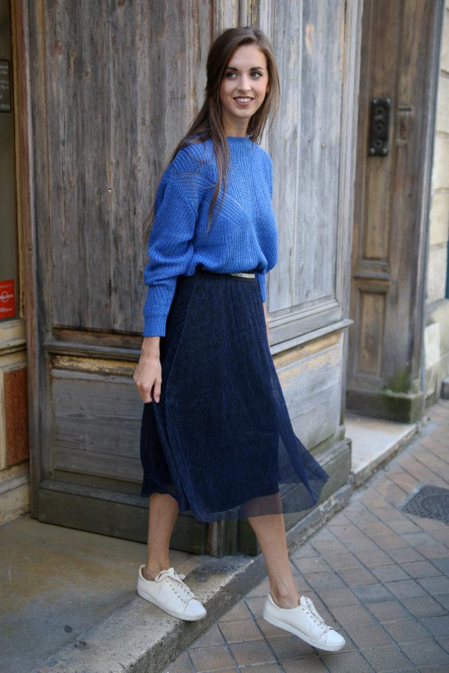jupe plissée piplis