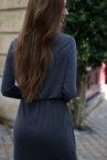 robe grise selma 2