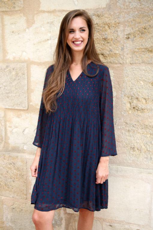 robe à pois 2