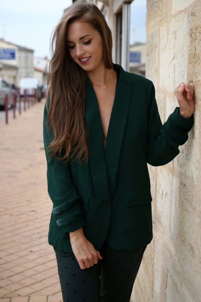 blazer vert numph 2