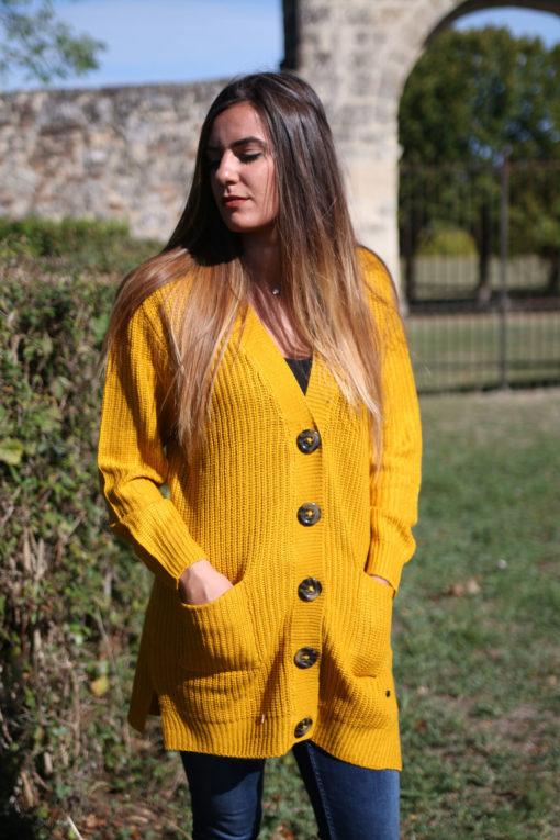 gilet jaune moutarde