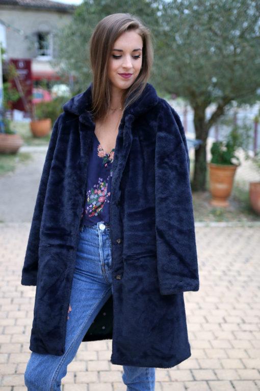 manteau faux fur 2
