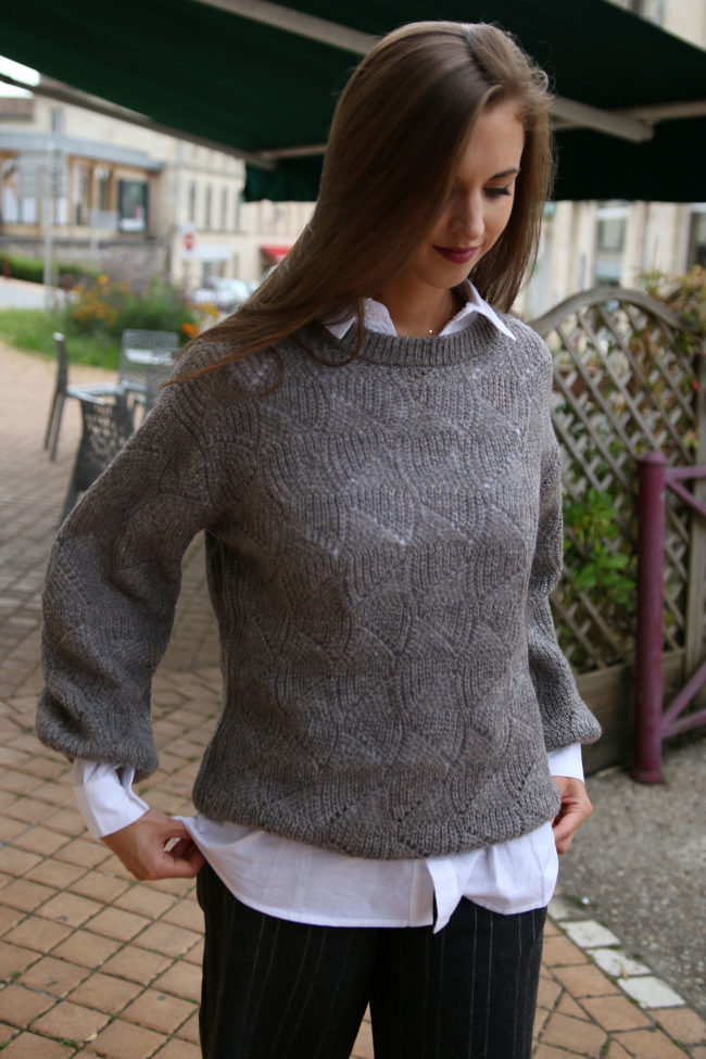 pull gris 2