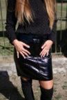 jupe noire vinyle 4