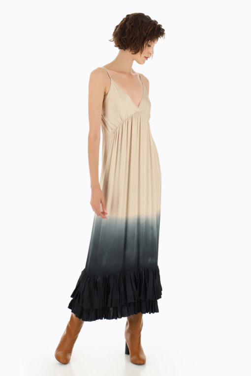 Robe tie and dye